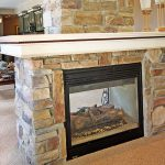 two way electric fireplace