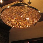 luxurious oyster shells pendant chandelier fixture