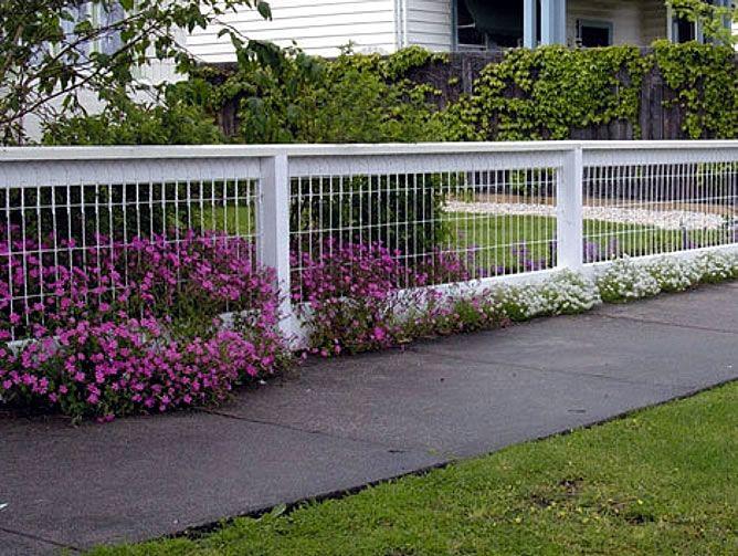 Backyard Fencing Ideas for Your Beautifull Garden | HomesFeed on Backyard Fence Decor Ideas id=96836