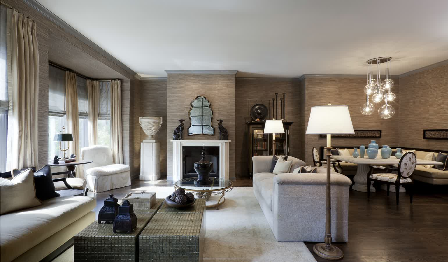 An inspiring chicago interior design firms with a great for Room design photos