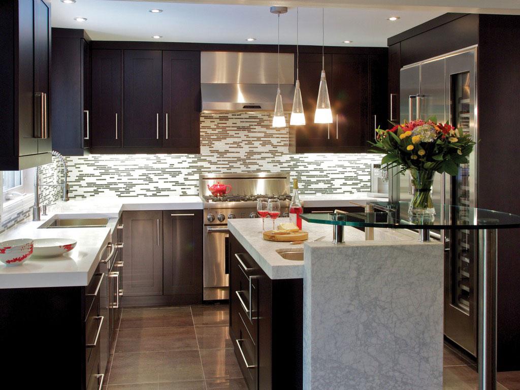 Mid Century Modern Kitchen Cabinet Shows Elegant Transition