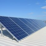 modern-cool-large-awesome-solar-panels-with-white-base-for-residence-electricity-needs