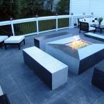 modern-cool-nice-adorable-patio-with-fire-pit-with-white-and-black-concept-coloring-made-of-cement-with-square-patio-fire-pits