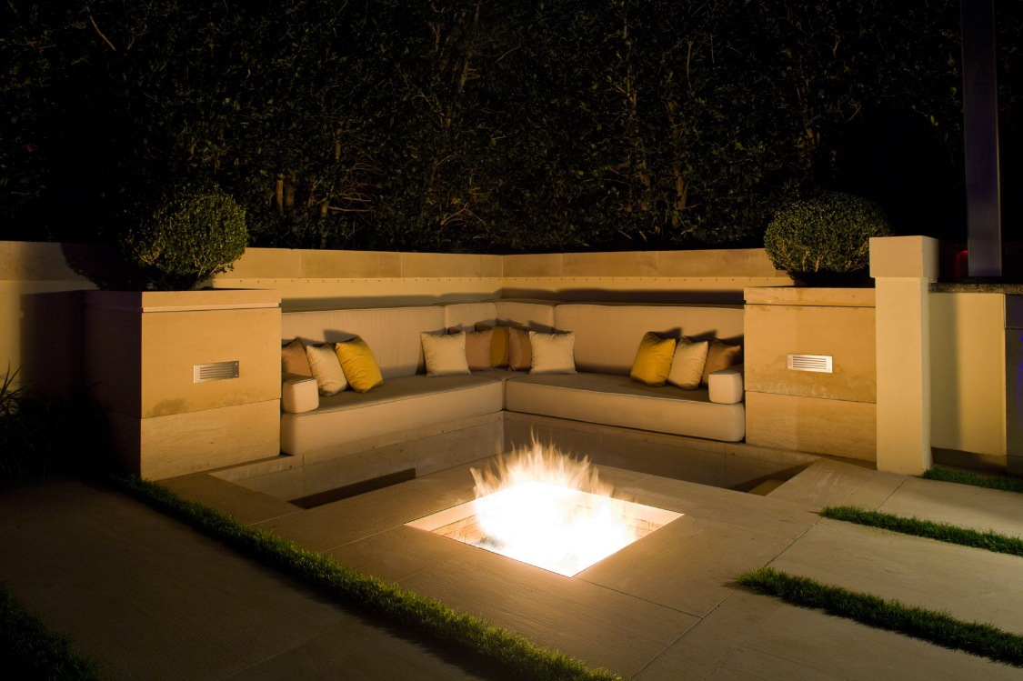 9 Inspiring In Ground Fire Pit Designs And Ideas