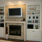 modern-small-compact-elegant-built-in-cabinet-around-fireplace-with-small-wooden-white-cabinet-material-concept-and-nice-modern-brick