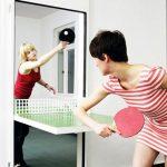 ping pong front door