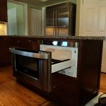 pull out microwave drawer in large size  hardwood floors for kitchen marble surface kitchen countertop