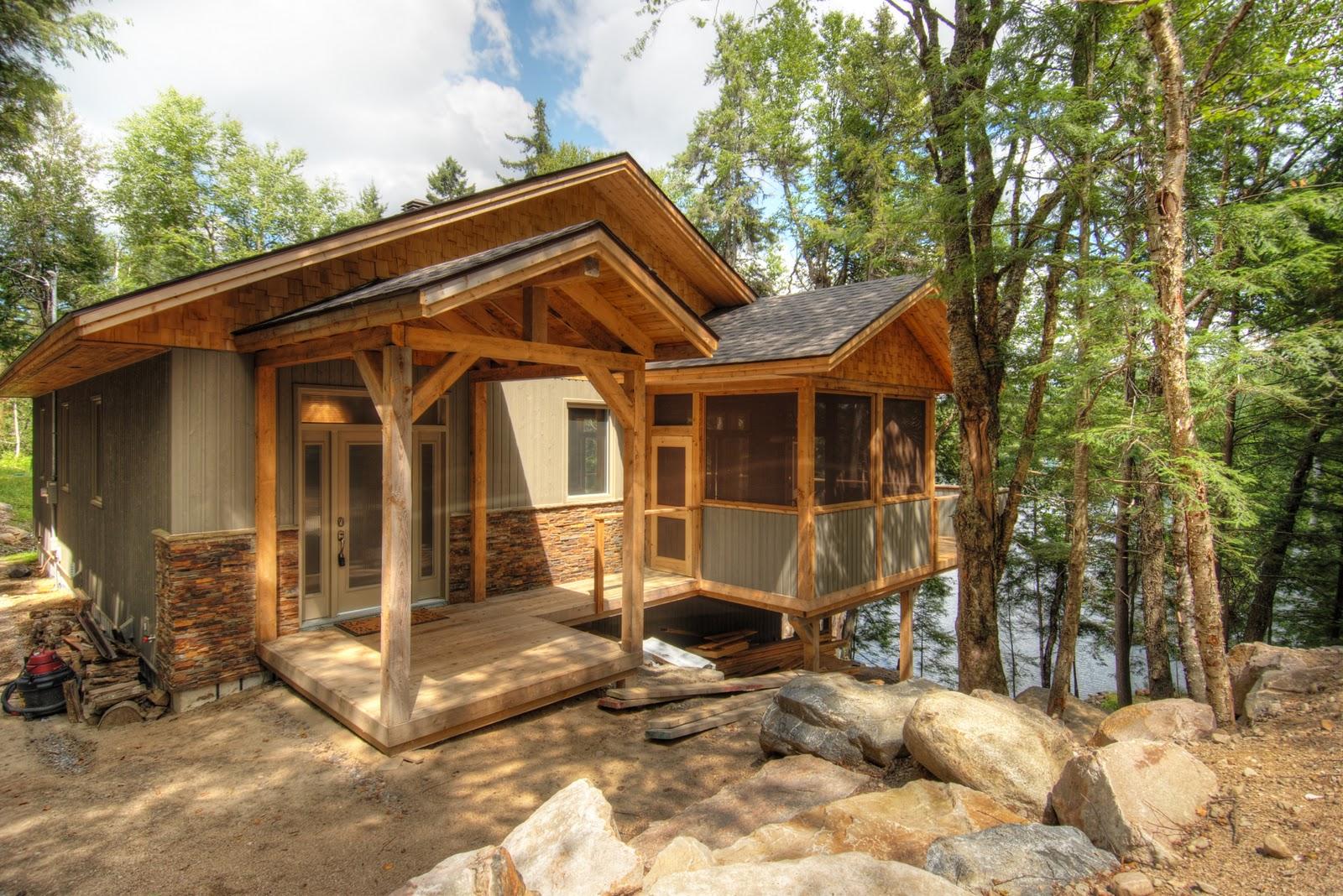 Small Rustic Cabin Plans | HomesFeed
