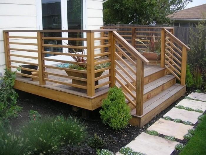 Horizontal Deck Railing The Advantages And Disadvantages Homesfeed