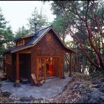 small cabin in rustic style