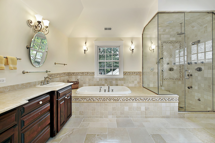 Get an Excellent and a Luxurious Bathroom Outlook by ... on Master Bathroom Remodel Ideas  id=75308