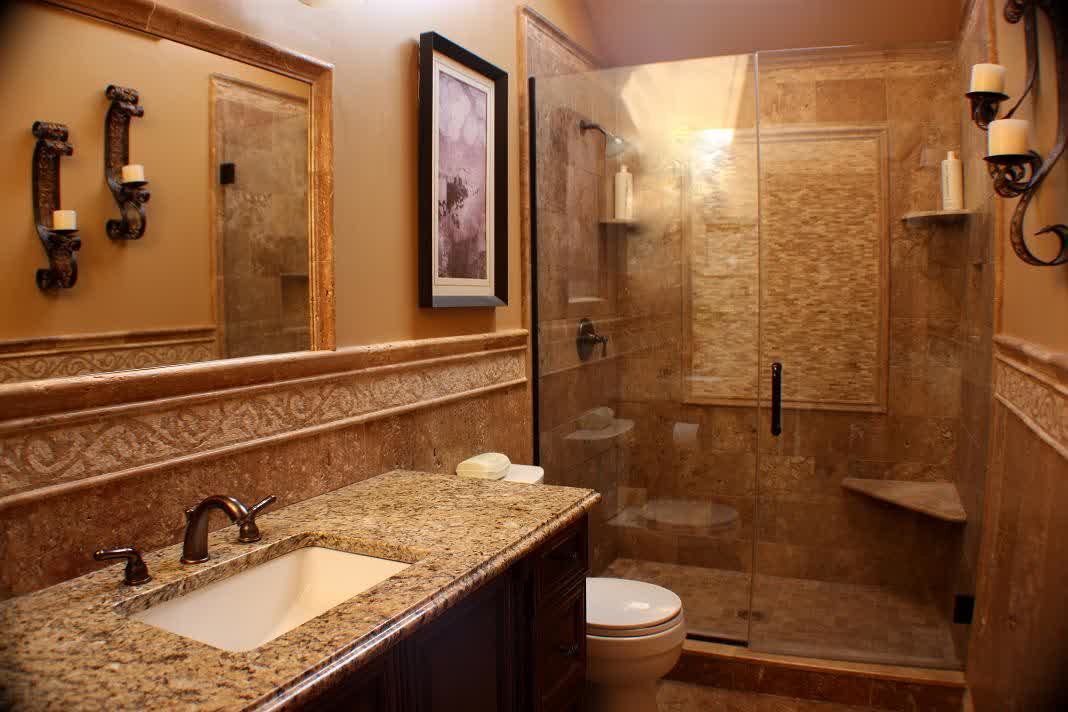 Amazing bathroom remodeling on a wise budget homesfeed - Small bathroom remodel with tub ...