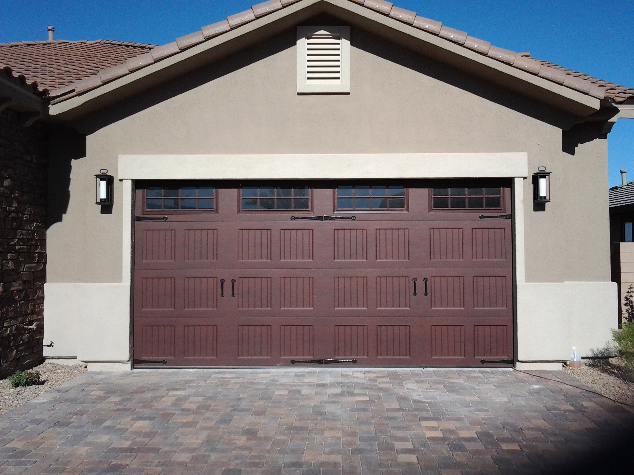 Awesome two car garage doors that will inspire you homesfeed for 2 door garage door