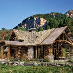 unique cabin in rustic style near the hills