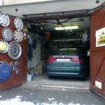 Unique Garage Doors With Wheel Hang On Door Single Car