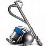 vacuum cleaner with metal construction and metal canister