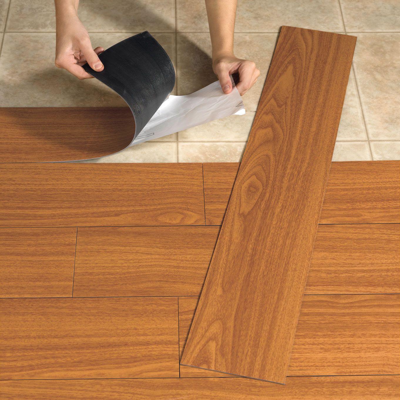 Vinyl Bat Floors In Wood Like