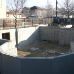 waterproof basement for exterior wall home foundation
