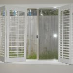 window shutters for folding windows