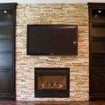 wonderful-cool-classic-traditional-built-in-cabinet-around-fireplace-with-small-black-cabinet-wooden-made-concept-with-clean-bricking-wall-with-small-television