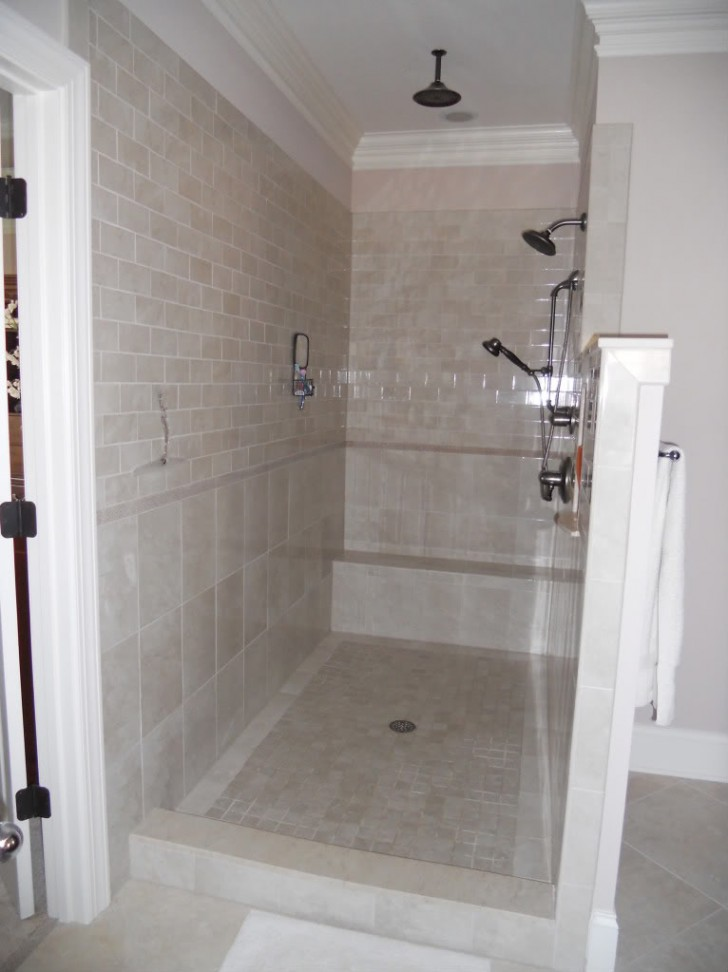 Modern and Classic Walk in Shower without Doors – HomesFeed