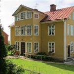 Yellow Painted House Ideas Blended With Red Tile Roof Nand Finest Landscape Design