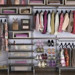 Closet organizer for shoes clothes and hand bag collections
