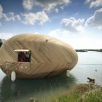 Exbury Egg off grid home