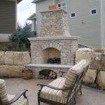 Fond du lac stones firelace mantel for outdoor some outdoor chairs