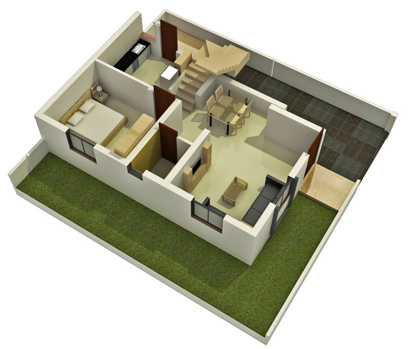 Duplex Home Plans and Designs - HomesFeed