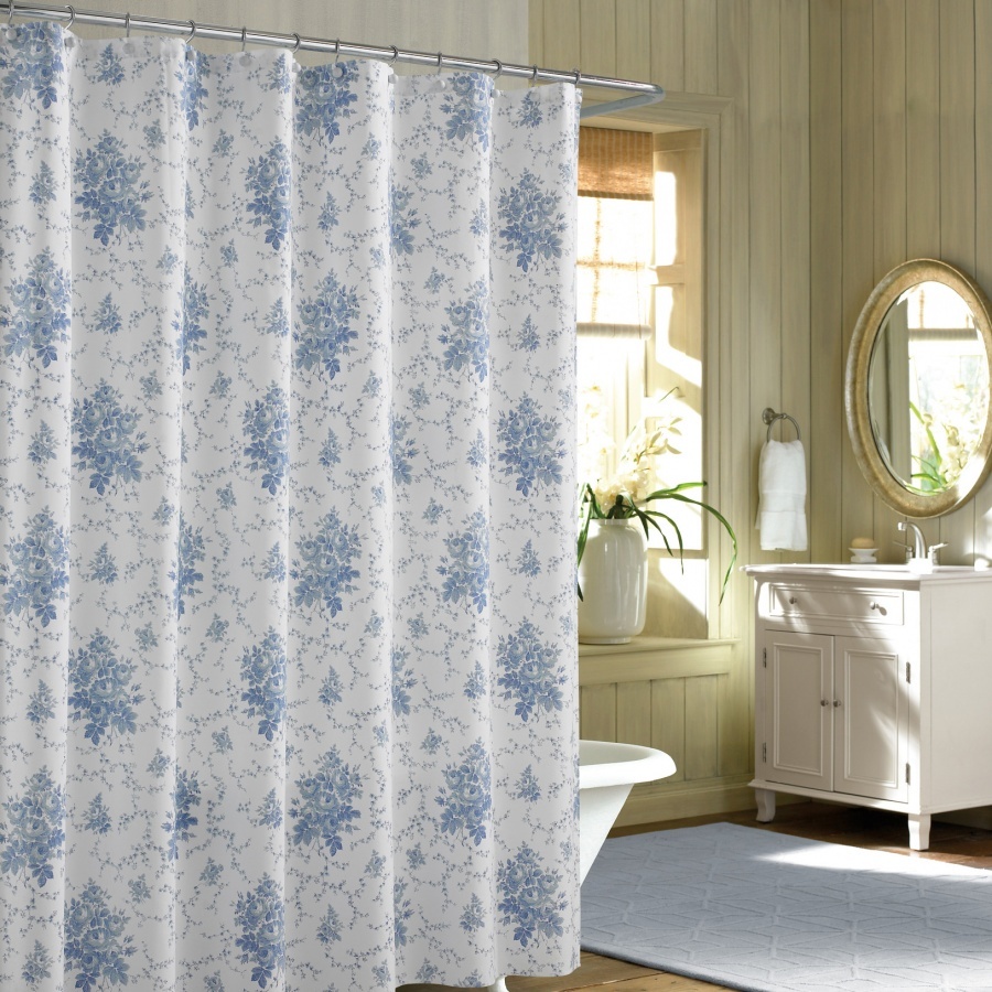 Bed Bath And Beyond Shower Curtains Blue | Gopelling.net