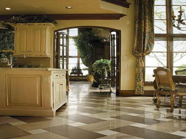 best floor for kitchen design homesfeed. Black Bedroom Furniture Sets. Home Design Ideas