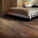 amazing-cool-creative-ceramic-wood-tile-flooring-reviews-with-nice-brown-coloring-for-bedroom-concept