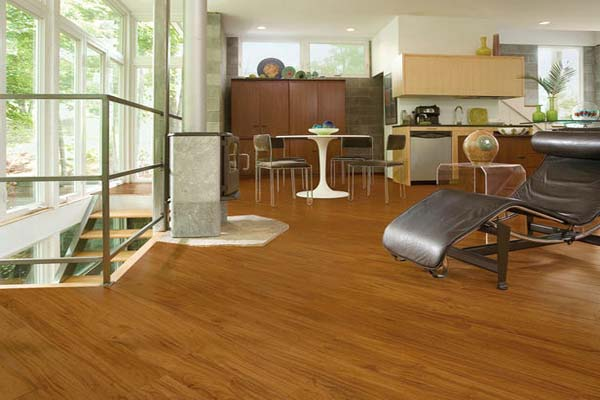 Vinyl Flooring That Looks Like Wood By Armstrong In This Living Area