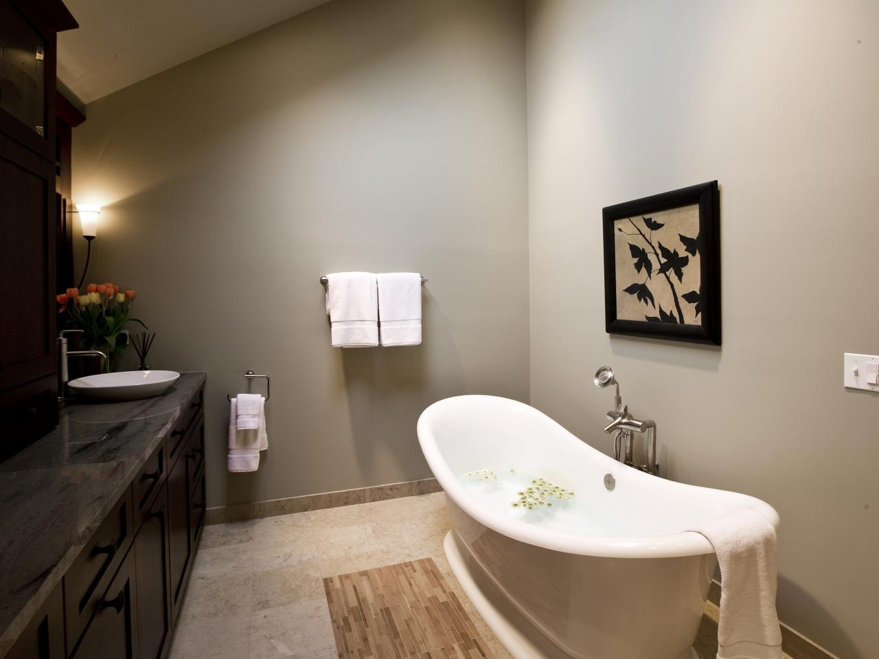 Deep Tubs for Small Bathrooms That Provide You Functional ... on Small Space Small Bathroom Ideas With Tub And Shower id=45169