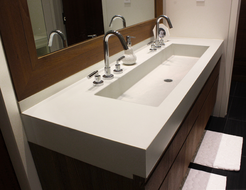 troff sinks bathroom trough sinks for efficient bathroom and kitchen ideas 14825