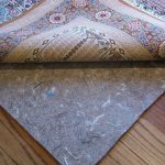 best grey rug pads for hardwood floor and modern rug with cool details