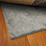 best rug pads for hardwood floors under the modern rug for home interior decoration