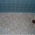 best tile for shower floor and blue wall tile for fresh bathroom ideas
