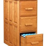 classic wood file cabinet ikea with three drawers and square wooden handle for home office