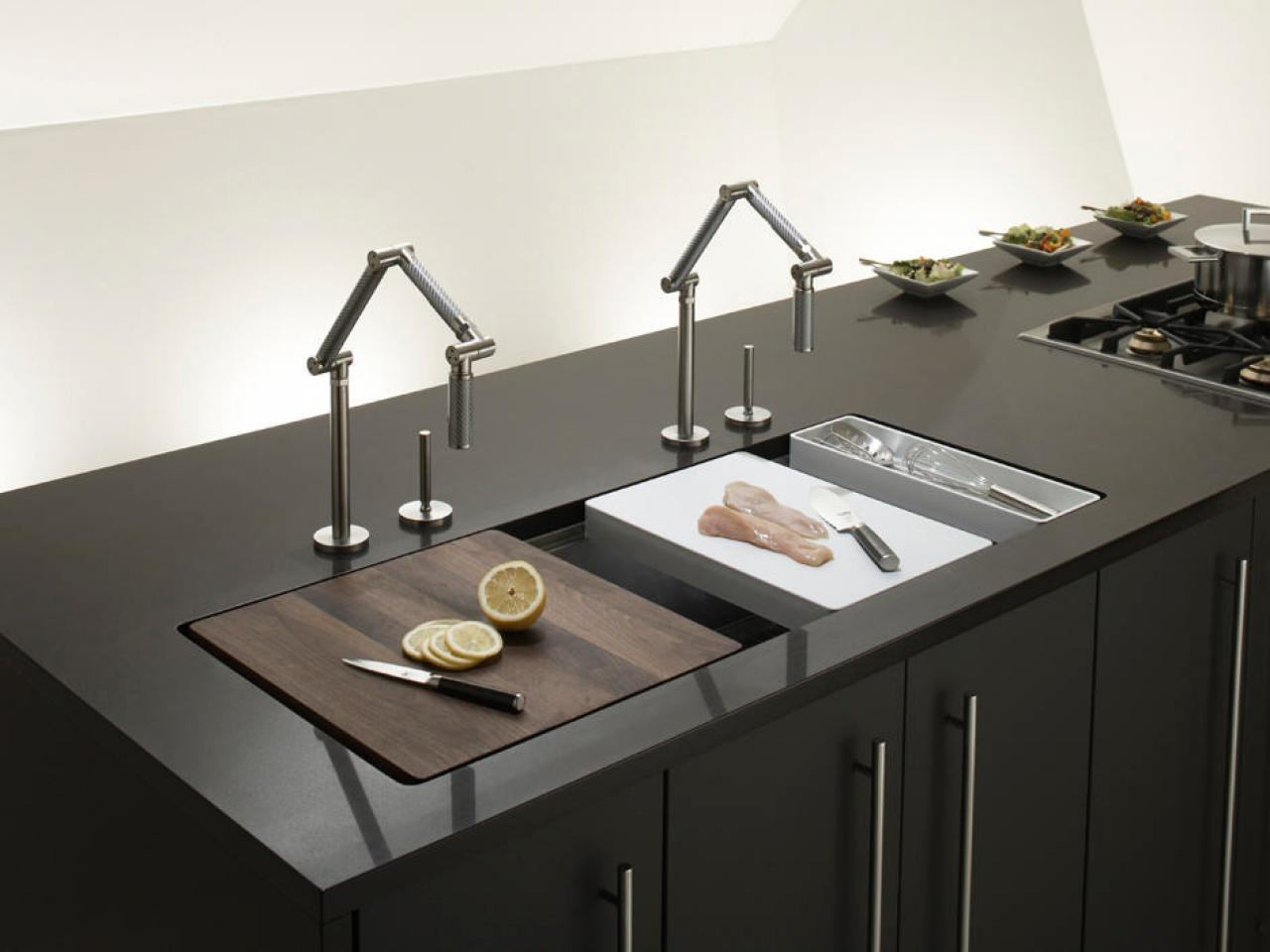 Trough Sinks for Efficient Bathroom and Kitchen Ideas ... on Kitchen Sink Ideas  id=89935