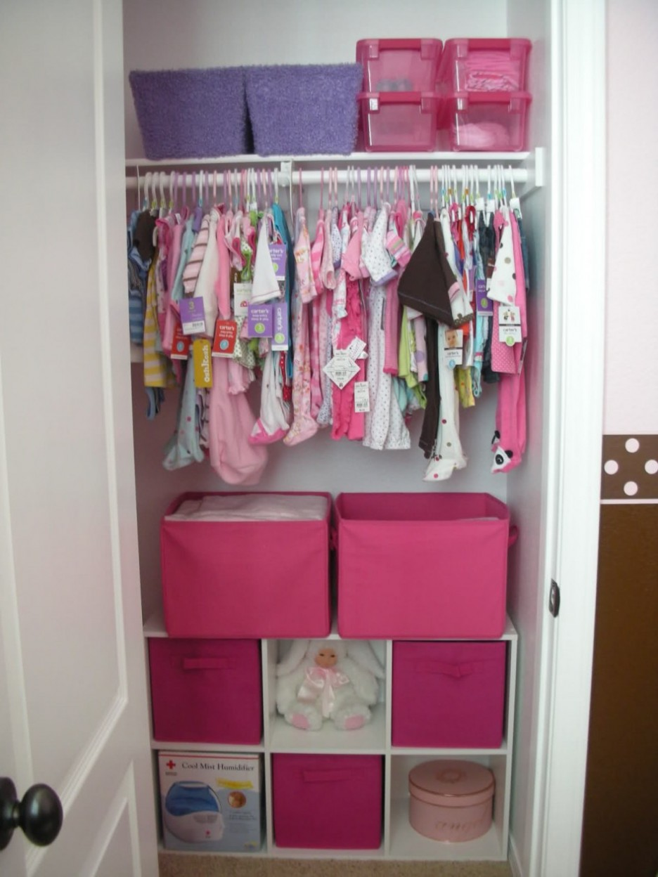 A Dazzling Closet Organizer With The Shelf With Hanging
