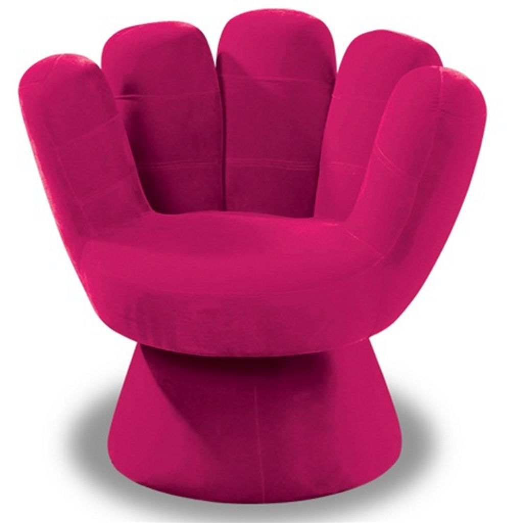 Comfy Chairs For Small Es In Pink With Hand Shapes Bedroom Or Living Room Home