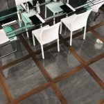 creative-nice-adorable-great-porcelain-marble-look-with-dark-grey-coloring-concept-for-dining-room-floor-design
