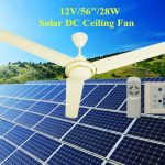 efficient battery operated ceiling fan solar dc ceiling fan with control