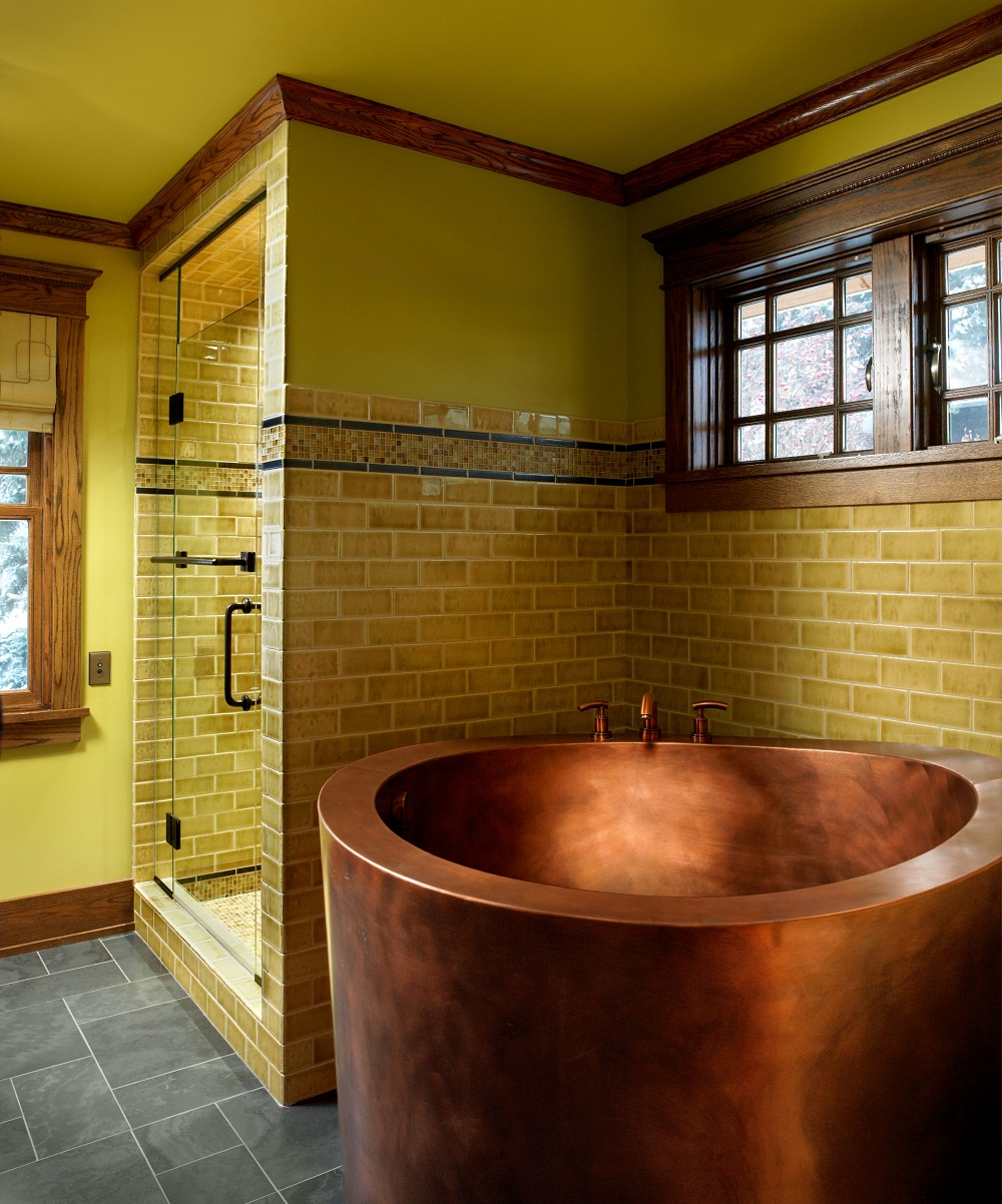 Get exciting bathroom ideas in asian style with small - Small bathroom ideas with tub ...