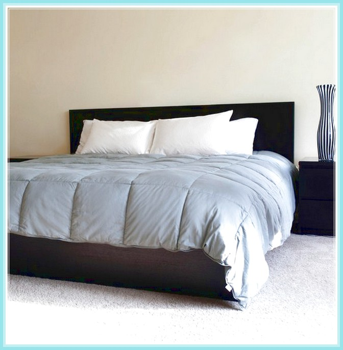 Home design down alternative comforter homesfeed for Minimalist bed sheets