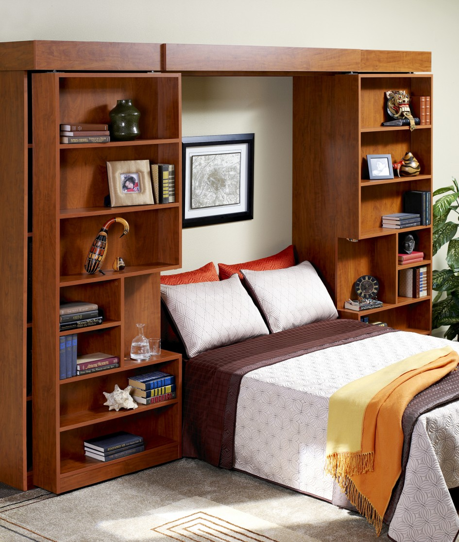 Fold Up Wall Bed: a Brand New Style to Have Comfortable ...