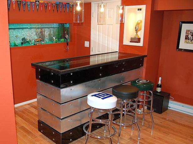 Bar Designs For Home Basements Homesfeed
