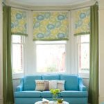 modern-creative-beautiful-nice-bay-window-with-double-concept-blind-and-curtain-in-green-coloring-and-flowery-blind-cloth-decoration